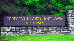 Forestville Mystery Cave State Park