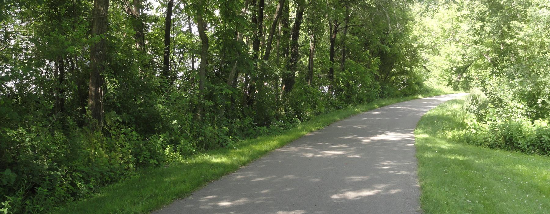 Root River State Bike Trail near Harmony MN