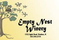 Winery near harmony - Empty Nest Winery in Waukon IA